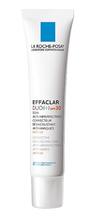 Комплексное корректирующее средство против недостатков и следов постакне для жирной проблемной кожи - La Roche-Posay Effaclar Duo (+) SPF30