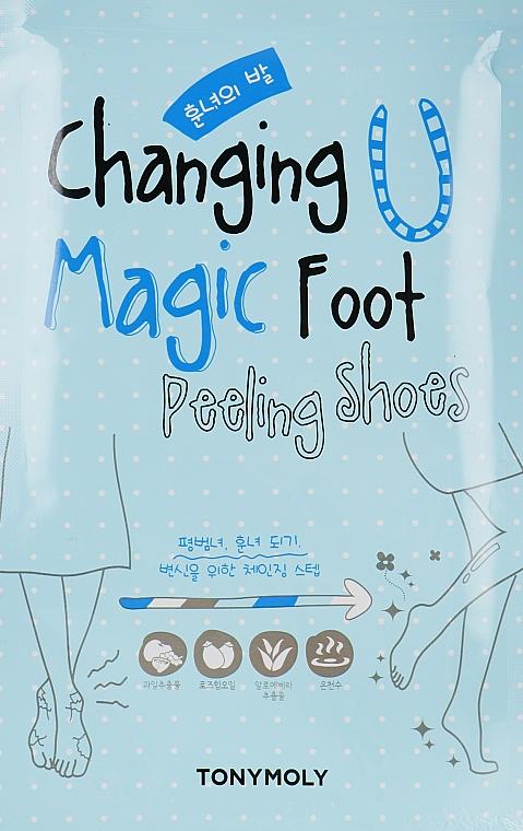 Носочки для пилинга ступней - Tony Moly Changing U Magic Foot Peeling Shoes