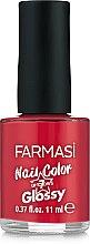 Парфумерія, косметика Лак для нігтів - Farmasi Nail Color Glossy