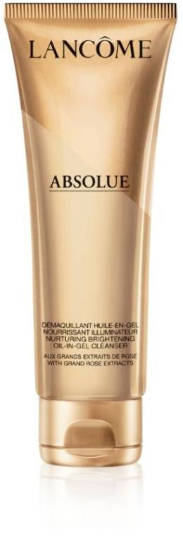 Масло-в-геле для очищения кожи лица с эффектом восстановления - Lancome Nurturing Brightening Oil-in-Gel Cleanser