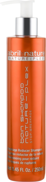 Восстанавливающий шампунь для волос - Abril et Nature Nature-Plex Bain Shampoo Stop-Breakage