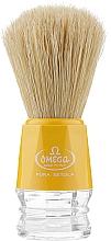 Духи, Парфюмерия, косметика Помазок для бритья, 10018, желтый - Omega