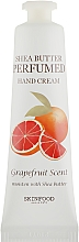 Духи, Парфюмерия, косметика Крем для рук - Skinfood Shea Butter Perfumed Hand Cream Grapefruit Scent