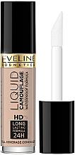 Парфумерія, косметика Коректор для обличчя - Eveline Cosmetics Liquid Camouflage HD Long Lasting Formula 24h
