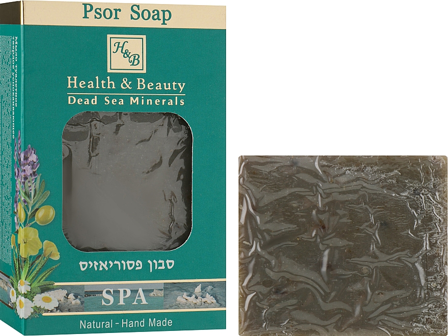 Мыло для ухода за кожей при псориазе - Health And Beauty Psor Soap