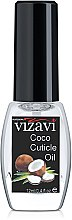 "Парфумерія, косметика Олія для кутикули ""Кокос"" - Vizavi Professional  Coconut Cuticle Oil"