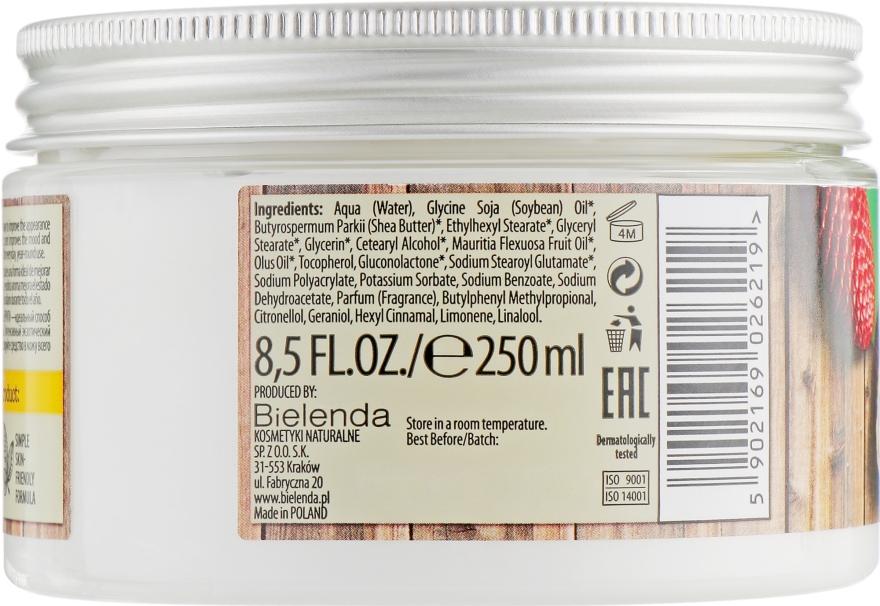 "Масло для тела ""Бурити"" - Bielenda Vegan Friendly Body Butter Buriti — фото N2"
