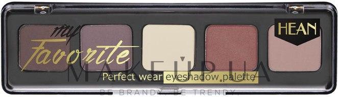 Палетка теней для век - Hean My favorite Eye Shadow Palette — фото 701 - Romantic Evening In Paris