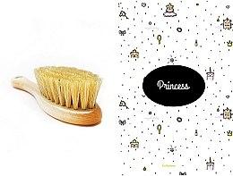 Духи, Парфюмерия, косметика Набор - LullaLove Princess (hair brush + muslin)