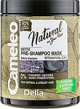 Духи, Парфюмерия, косметика Маска перед использованием шампуня - Delia Cameleo Natural Detox Pre-Mask