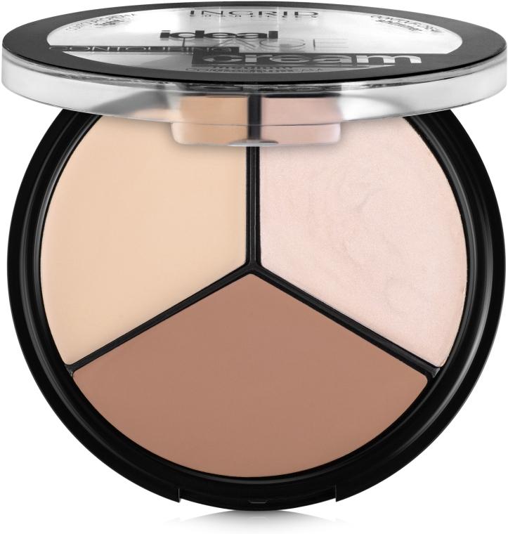 Палетка для контурирования лица - Ingrid Cosmetics Ideal Face Countouring Cream