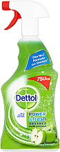 Духи, Парфюмерия, косметика Антибактериальный спрей - Dettol Trigger Power & Fresh Refreshing Green Apple