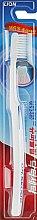 Духи, Парфюмерия, косметика Зубная щетка для чувствительных десен, белая с синим - CJ Lion Dr.Sedoc