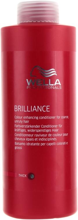 Кондиционер для сильных и жестких окрашенных волос - Wella Professionals Brilliance Conditioner