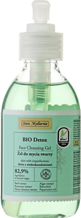 Очищающий detox-гель для проблемной кожи лица - Stara Mydlarnia Happy Face Bio Detox Face Cleansing Gel