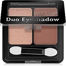 Духи, Парфюмерия, косметика Тени для век - DoDo Girl Duo Eyeshadow
