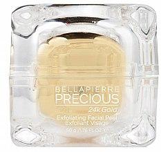 Духи, Парфюмерия, косметика Пилинг для лица - Bellapierre Precious 24k Gold Exfoliating Facial Peel