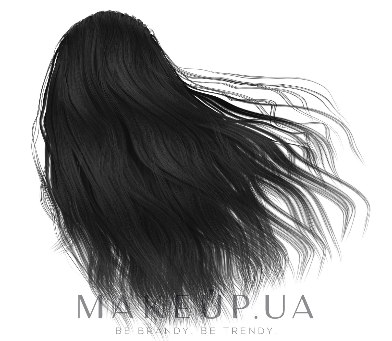 Натуральная краска для волос на основе хны - Color Mate Hair Color — фото 9.1 - Natural Black