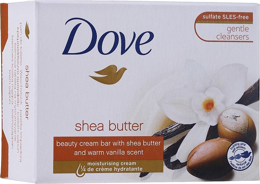 "Крем-мыло ""Объятия нежности"" - Dove Purely Pampering Shea Butter Beauty Cream Bar"