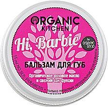 """Духи, Парфюмерия, косметика Бальзам для губ """"Hi, Barbie"""" - Organic Shop Organic Kitchen"""
