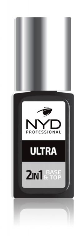 Ультрастойкое средство 2в1 - NYD Professional 2in1 Base&Top