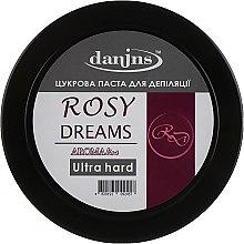 """Духи, Парфюмерия, косметика Парфюмированная сахарная паста для депиляции """"Розовые мечты"""", ультра твердая - Danins Rosy Dreams Sugar Paste Ultra Hard"""