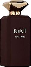 Духи, Парфюмерия, косметика Korloff Paris Royal Oud - Парфюмированная вода вода