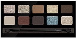 Духи, Парфюмерия, косметика Палетка теней для век, 10 цветов - Pierre Rene Palette Match System Eyeshadow Desert Shine