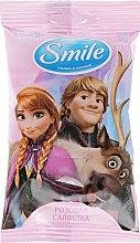 """Духи, Парфюмерия, косметика Влажные салфетки """"Frozen"""", 15шт, Анна и Кристофф - Smile Ukraine Disney"""
