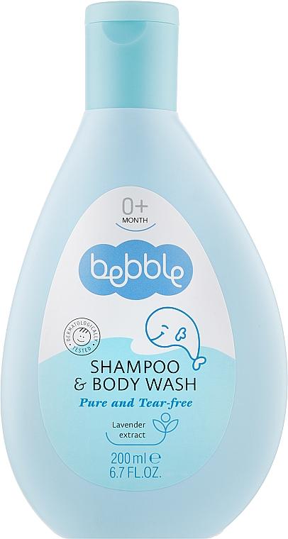Детский шампунь для волос и тела - Bebble Shampoo & Body Wash
