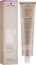 Духи, Парфюмерия, косметика Тонирующий крем для светлых волос - Schwarzkopf Professional BlondMe Blonde Toning