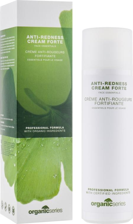 Крем для лица против купероза - Organic Series Anti-redness Cream Forte