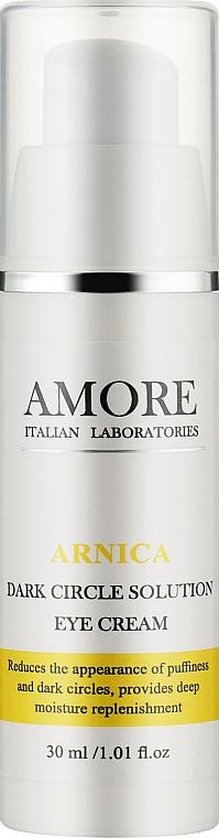 Концентрированная крем-сыворотка с арникой против темных кругов вокруг глаз - Amore Arnica Dark Circle Solution Eye Serum