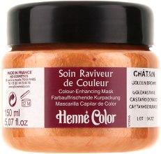 "Духи, Парфюмерия, косметика Крем-маска для волос ""Каштан"" - Henne Color Colour Enhancing Mask Golden Brown"