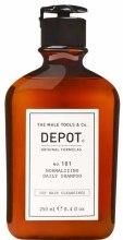 Духи, Парфюмерия, косметика Шампунь для волос, нормализующий, ежедневный - Depot Hair Cleansings 101 Normalizing Daily Shampoo