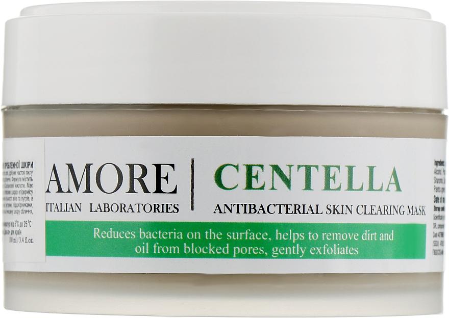 Концентрированная маска с экстрактом центеллы для лечения проблемной кожи - Amore Centella Antibacterial Clearing Mask