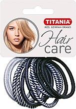 Духи, Парфюмерия, косметика Резинки для волос, 10шт, разноцветные - Titania Hair Care