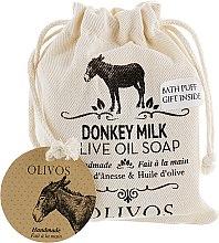 """Духи, Парфюмерия, косметика Натуральное оливковое мыло """"Молоко ослицы"""" - Olivos Donkey Milk Olive Oil Soap"""