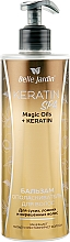 Духи, Парфюмерия, косметика Бальзам-ополаскиватель для сухих, ломких и окрашенных волос - Belle Jardin Keratin SPA Magic Oil + Keratin