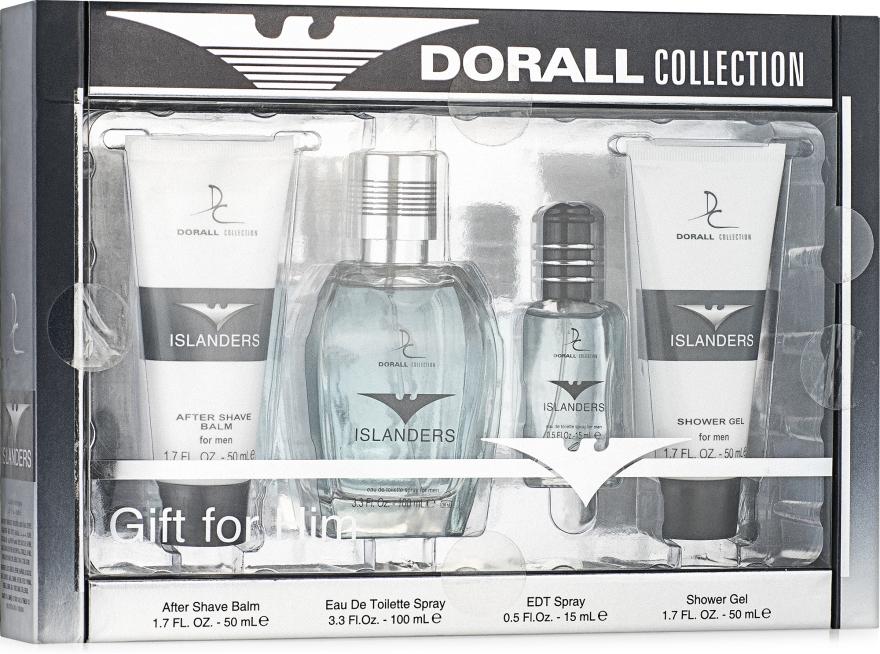 Dorall Collection Islanders - Набор (edt/15ml/100ml+sh/gel/50ml+balm/50ml)