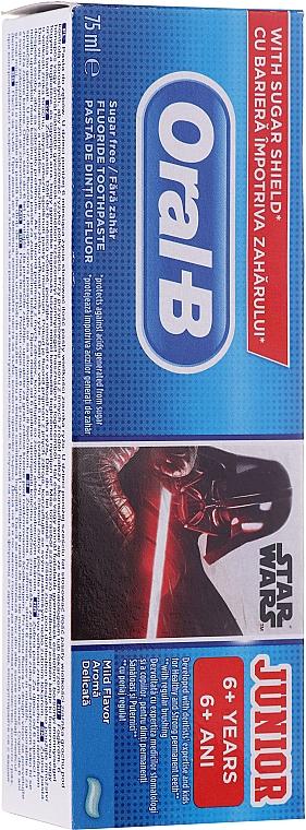 "Детская зубная паста ""Звездные Войны"", 6 + лет - Oral-B Junior Star Wars Toothpaste"