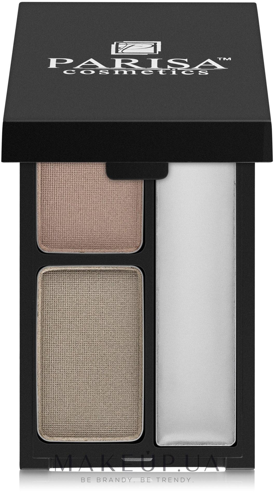 Тени+гель для бровей - Parisa Cosmetics Brow Kit — фото №5