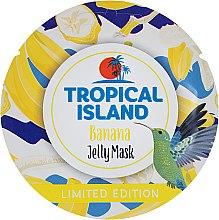 Духи, Парфюмерия, косметика Восстанавливающая гелевая маска с бананом и лимоном - Marion Tropical Island Banana Jelly Mask