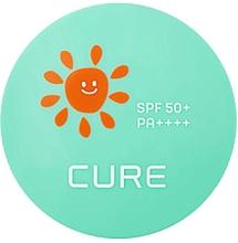 Духи, Парфюмерия, косметика Солнцезащитный кушон - Kim Jeong Moon Cure Water Splash Aloe Cooling Sun Cushion SPF50+ PA++++