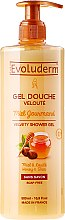 Духи, Парфюмерия, косметика Гель для душа с медом и маслом Ши - Evoluderm Miel Gourmand Velvety Shower Gel