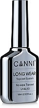 Духи, Парфюмерия, косметика Финишное покрытие - Canni Long Wear No-wipe Topcoat