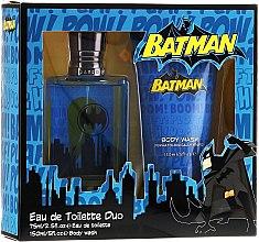 Духи, Парфюмерия, косметика DC Comics Batman - Набор (edt/75ml + sh/gel/150ml)