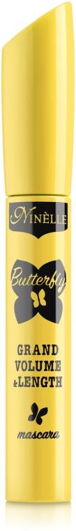 """Тушь для ресниц """"Объем и удлинение"""" - Ninelle Butterfly Grand Volume & Length Mascara"""