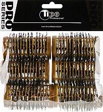 """Духи, Парфюмерия, косметика Бигуди """"Ежики"""", 90mm, d46, бронза - Tico Professional"""