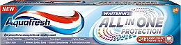 Зубная паста отбеливающая - Aquafresh All-in-One Protection Whitening — фото N1